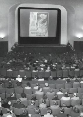 Porno i en biograf